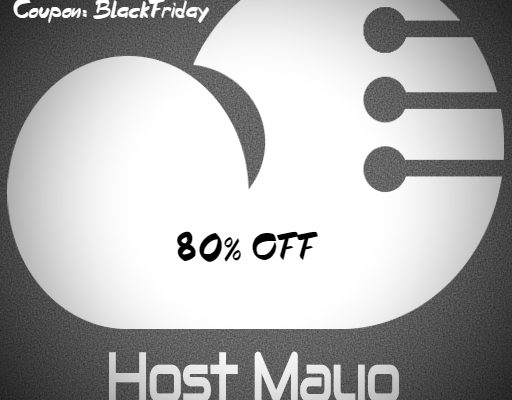 Black Friday Hosting Coupon